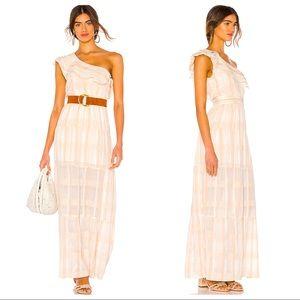 NWT Tularosa Avery Dress in White Stripe